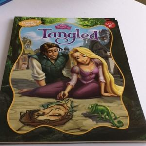Disney Princess Tangled - Learn to Draw Book
